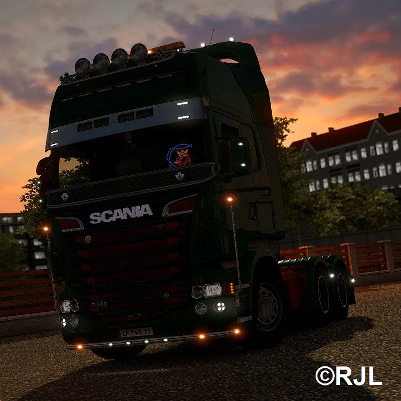 Мод грузовик Scania R & Streamline Modifications v 1.4 (1.20) Euro Truck Simulator 2
