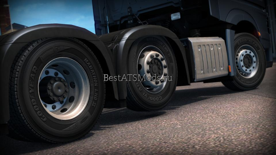Мод колеса Wheels Pack by 50keda v2.0 Euro Truck Simulator 2