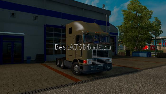 Мод тягач International 9800 Euro Truck Simulator 2