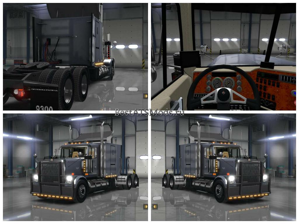 Мод грузовик International Eagle 9300i American Truck Simulator