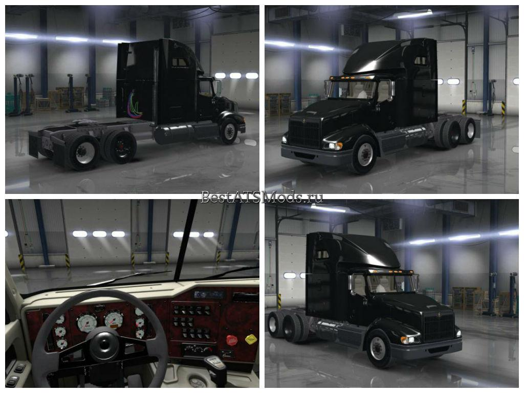 Мод грузовик International 9400I 1.0.0 American Truck Simulator