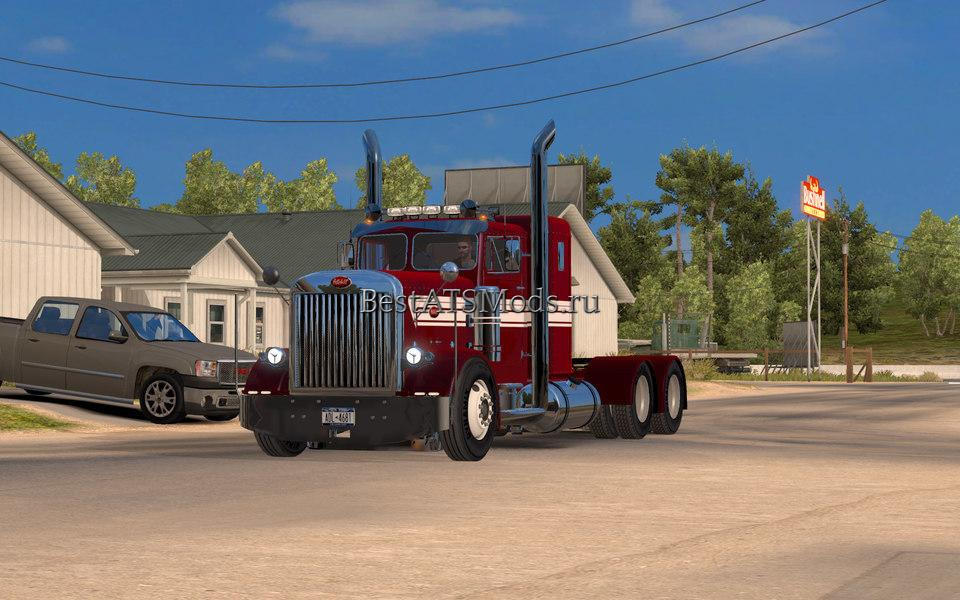 Мод грузовик Peterbilt Custom 351 Update American Truck Simulator