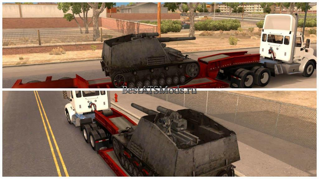 rsz_Мод_прицеп_world_of_tanks_hummel_on_lowboy_trailer_american_truck_simulator