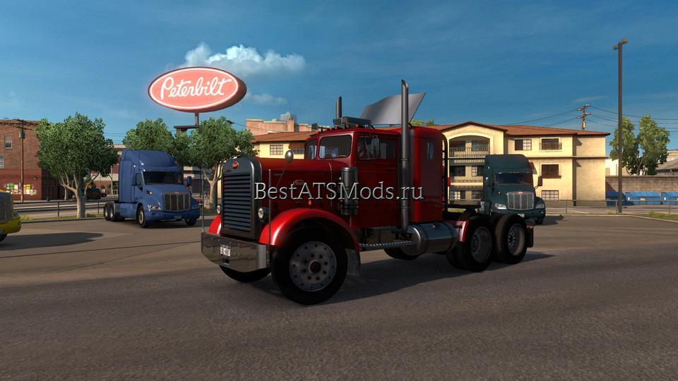 Мод грузовик Peterbilt 351 JAWA Smith Stas556 4.0 American Truck Simulator