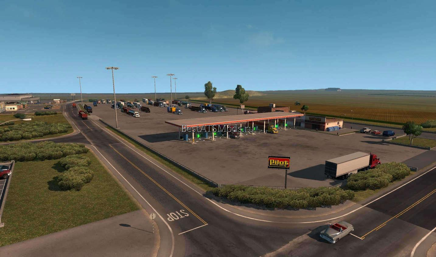 rsz_Мод_карта_coast_to_coast_map_v18_for_american_truck_simulator