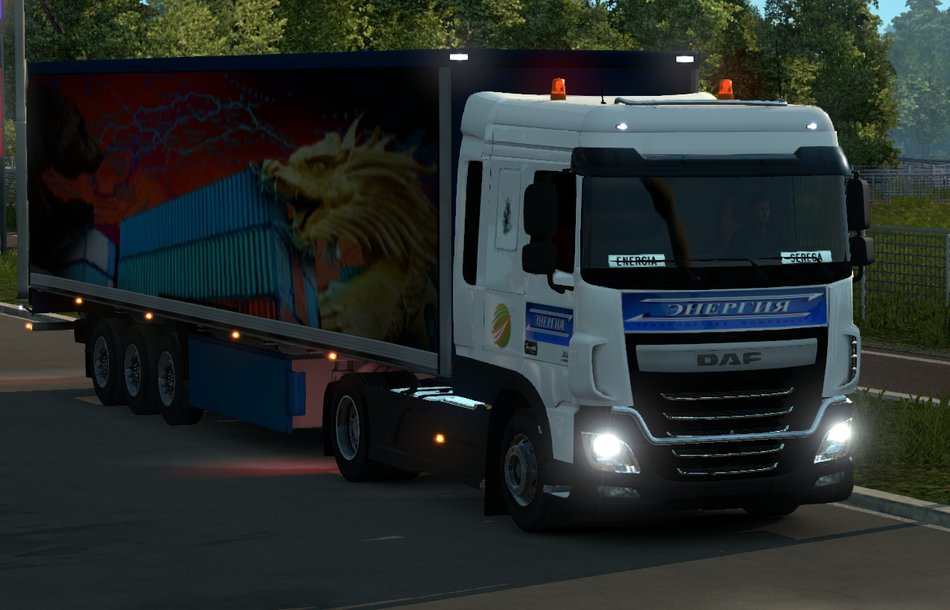 Мод прицеп Trailers the great silk road Euro Truck Simulator 2