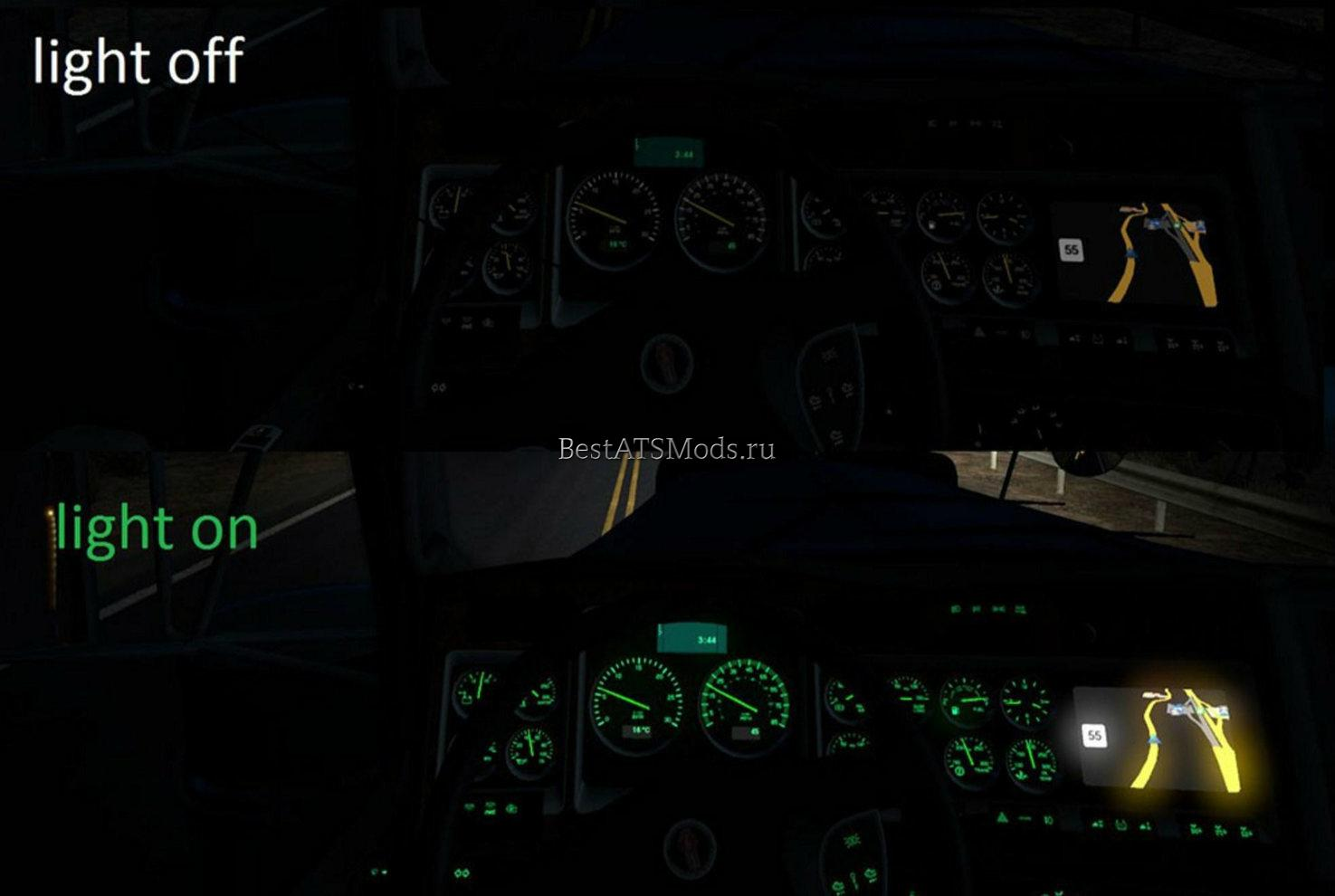 rsz_Мод_зеленая_приборная_панель_kenworth_w900_green_dashboard_mod_american_truck_simulator