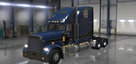 Мод ATS Freightliner Classic XL V2.0 edited by Custom American Truck Simulator